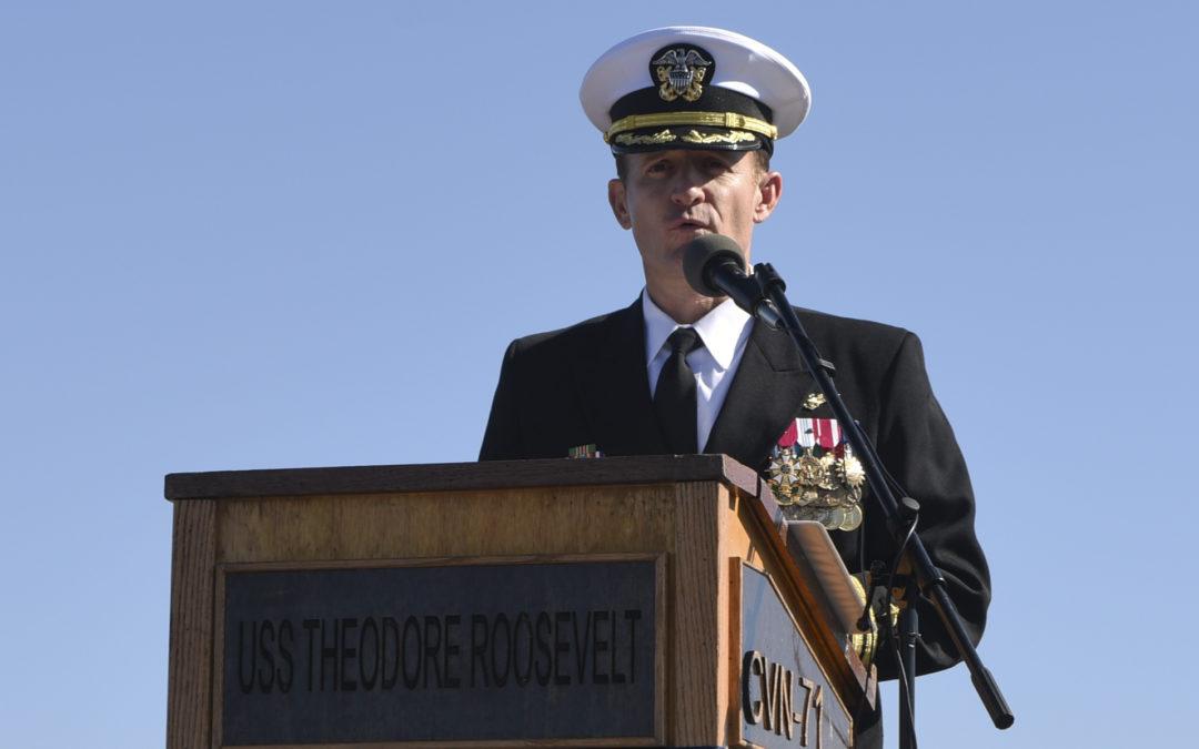 After Captain's Plea, Carrier Unloading Sailors in Guam