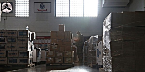 Ohio Military Reserve Collects PPE, Medical Equipment Donations