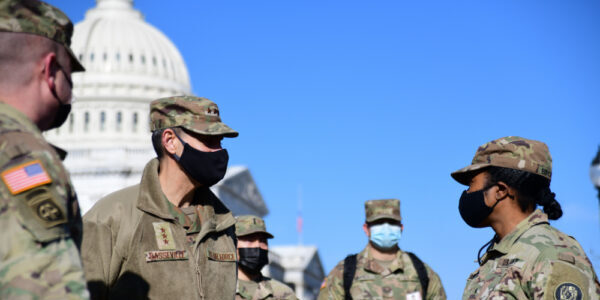 Thousands of National Guard Troops to Remain in D.C. through March