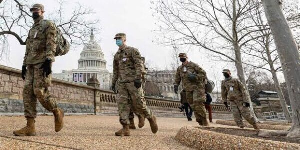 National Guard Authorized to Carry Weapons in DC