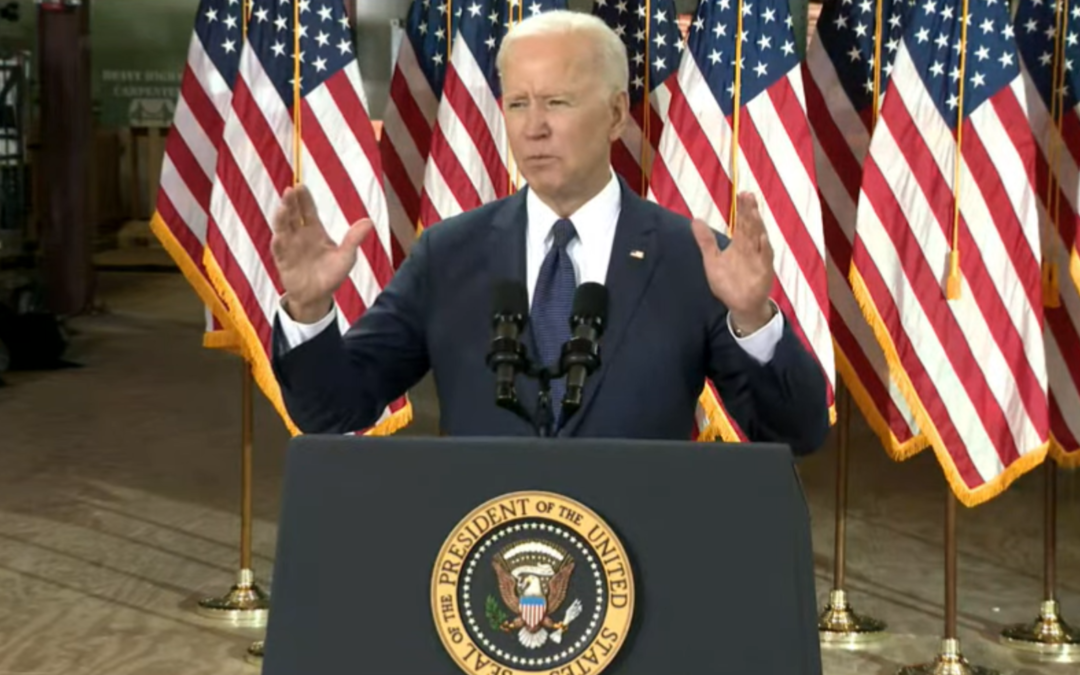 Biden Rolls Out $2T Infrastructure, Workforce Initiative