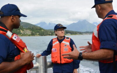 VADM Fagan Could Become Coast Guard's First Woman Four-Star