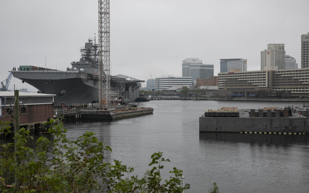 Bipartisan SHIPYARD Act Would Boost Spending on Public, Private Shipyards