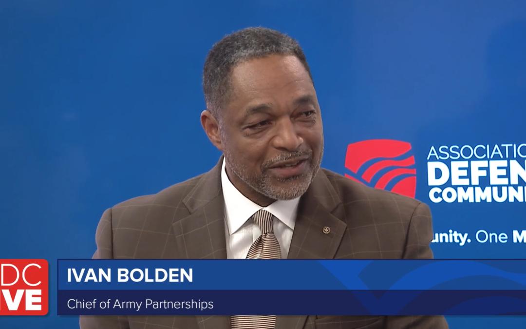 Commander's Buy-In Critical for Landing DCIP Grants, Bolden Says