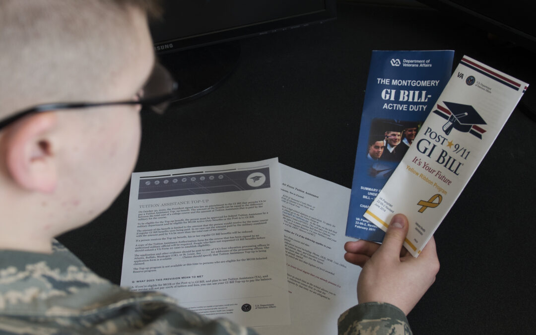 Proposal Would Allow GI Bill Funds to Go to Business Startup Costs