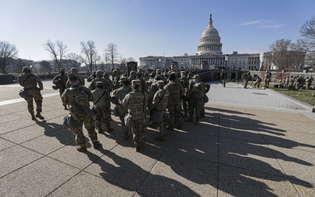 68 House Members Urge Hill Leaders to Repay Guard for Capitol Patrol