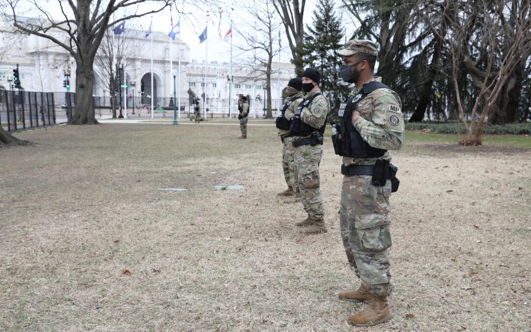 Senate Deal on Capitol Security Reimburses Guard, Nixes Rapid Response Force