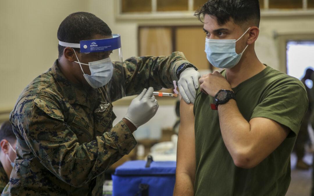 Top Navy, Marines Enlisted Leaders Say Vaccines Should Be Mandatory