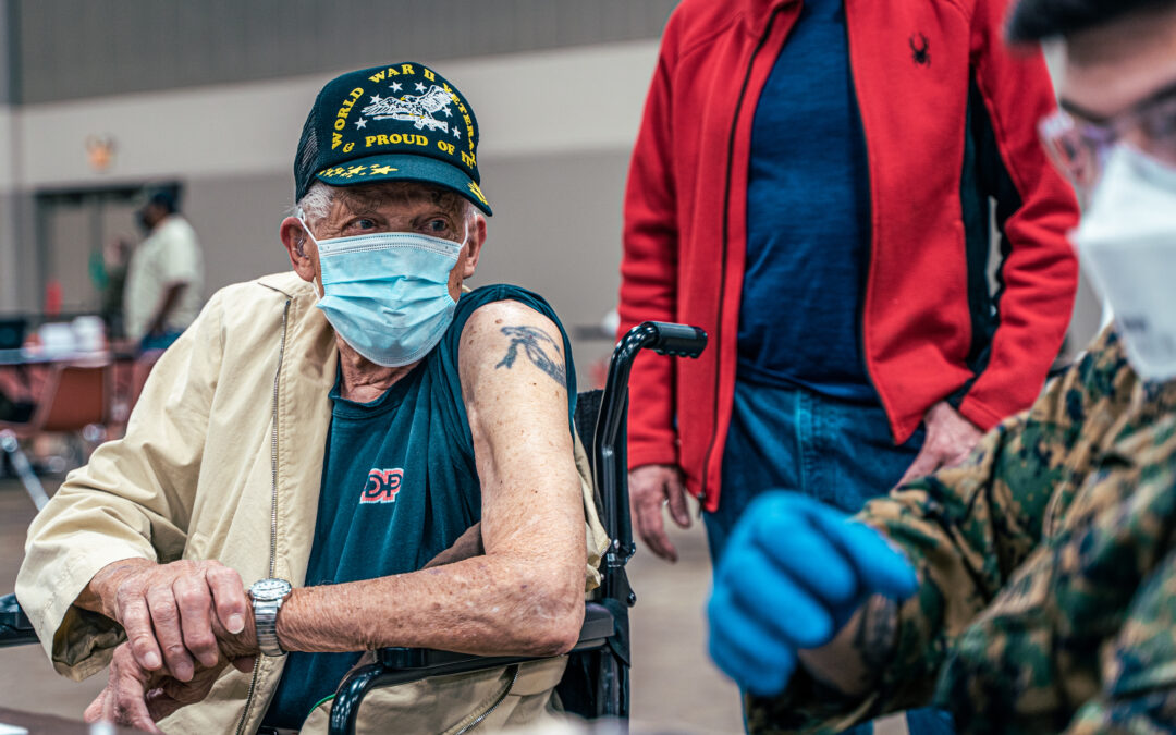 VA Encouraging Vaccines as COVID Spikes among Vets
