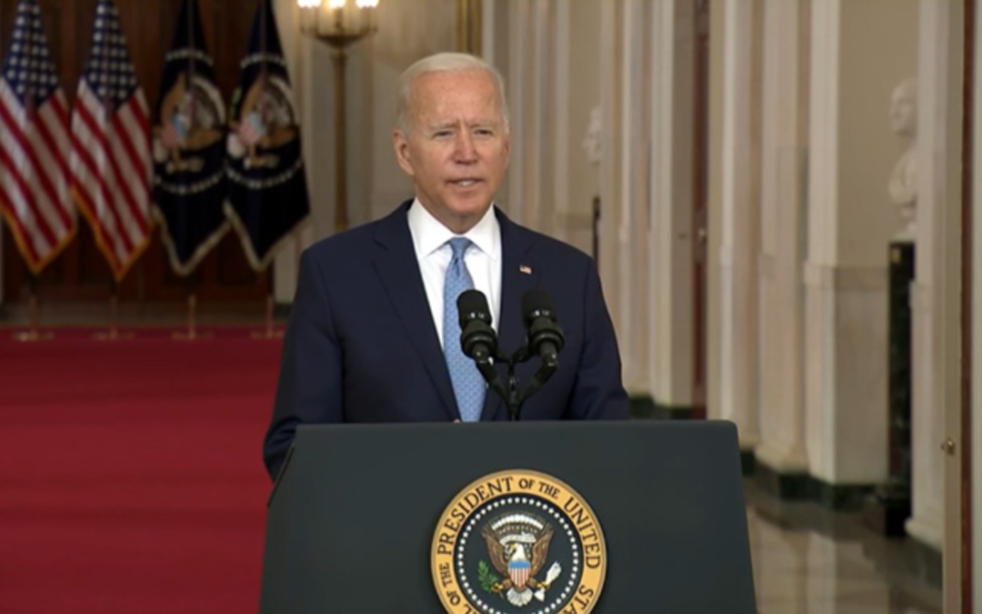 With Afghanistan Over, Biden Signals Refocus to Rising Threats