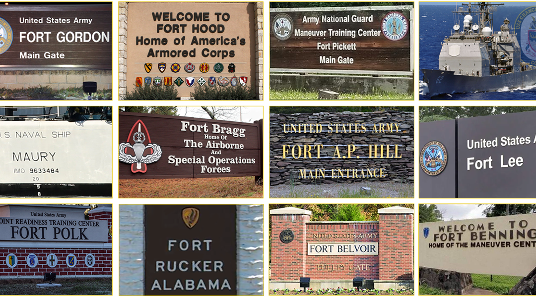 Naming Commission Asks Public for Recommendations to Rename Confederate-Linked Sites