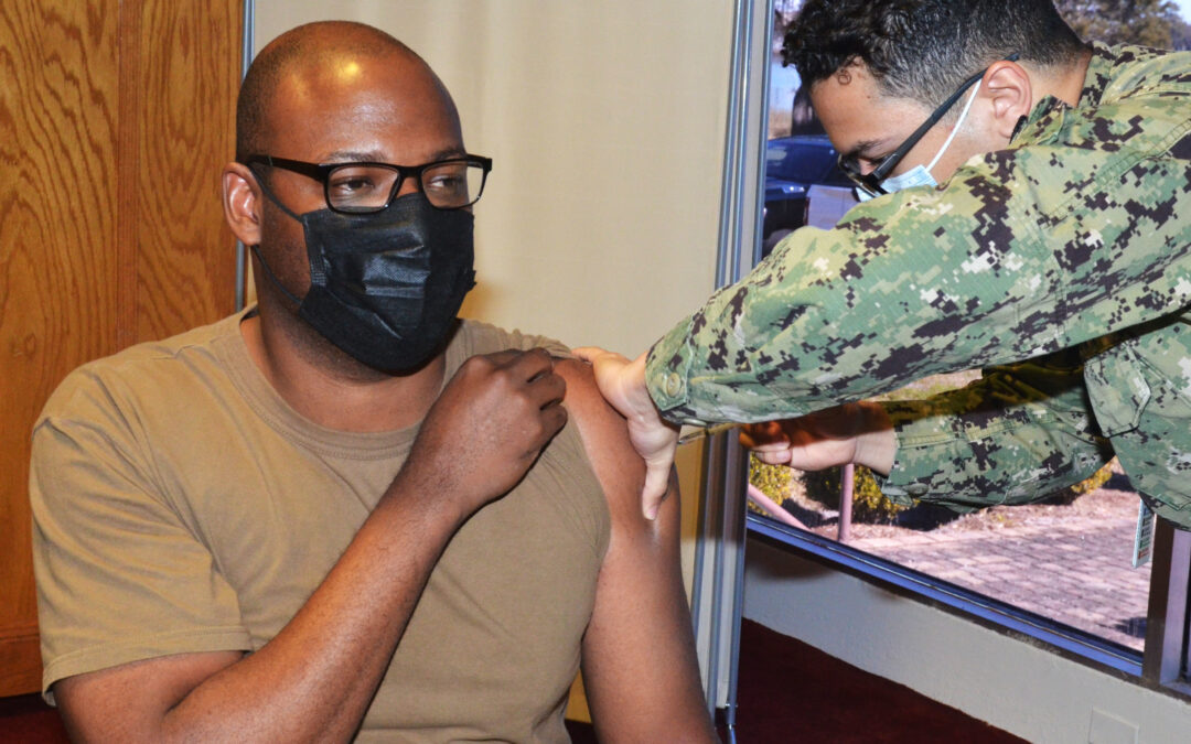 Reservists Lag Behind Active Duty Service Members as First Vaccine Deadlines Approach