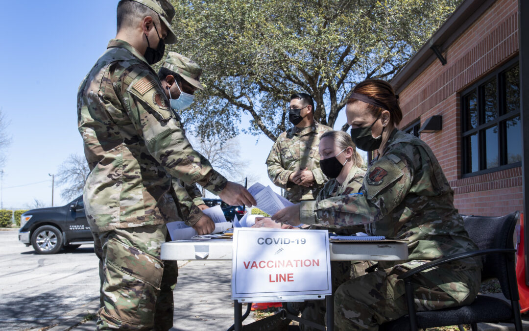 Air Force Vaccine Refusers Could Be Court-Martialed