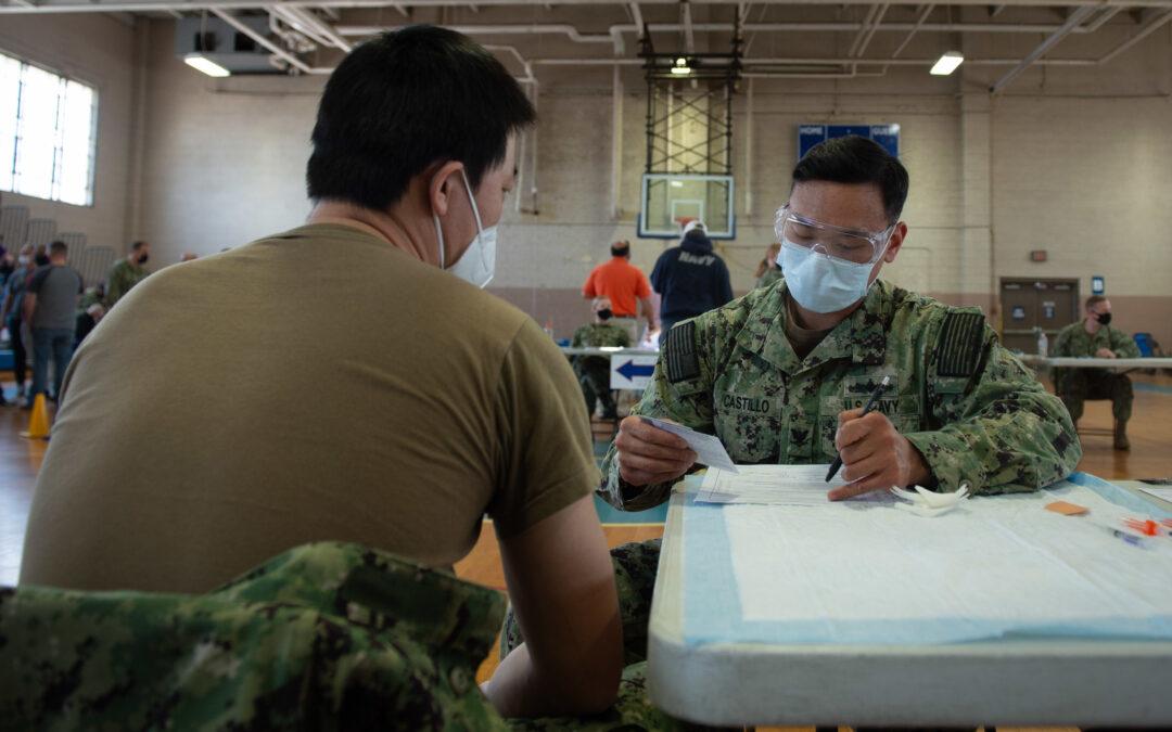 Navy Outlines Discharge Procedures for Vaccine Refusers